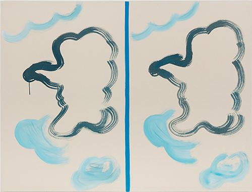 1995 - 137,5 x 182 cm - coll. privée Hong-Kong