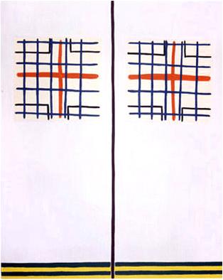 1989 - 247 x 196 cm - coll. MNAM Centre Georges-Pompidou
