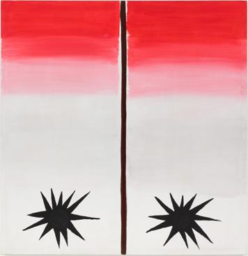 1988 - 144 x 139 cm - coll. privée Hong-Kong
